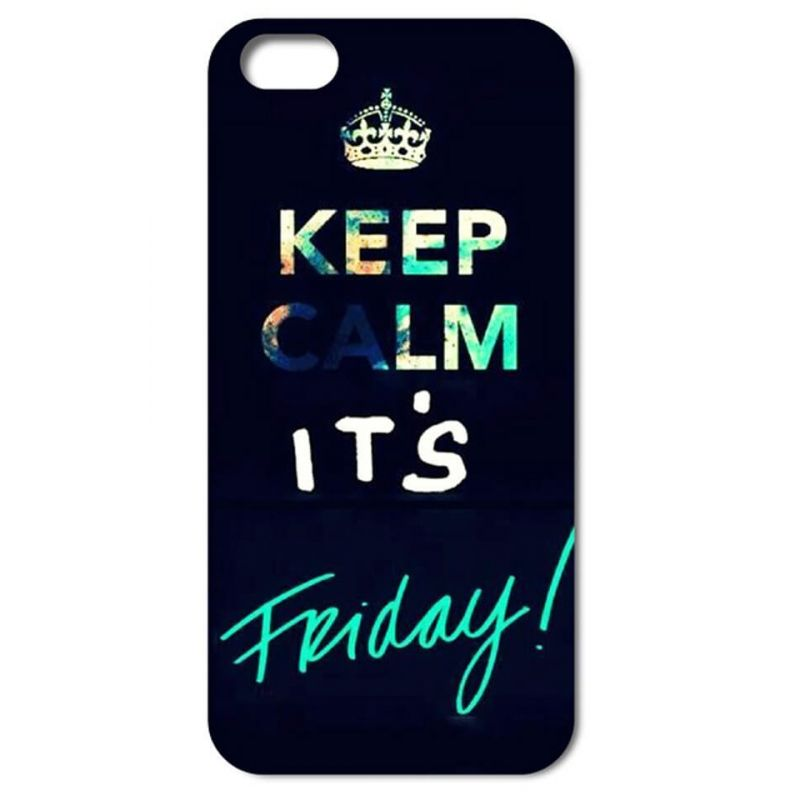 'Keep Calm it's Friday' Hardcase for iPhone 4 4S   Covers et Cases iPhone 4 - 1
