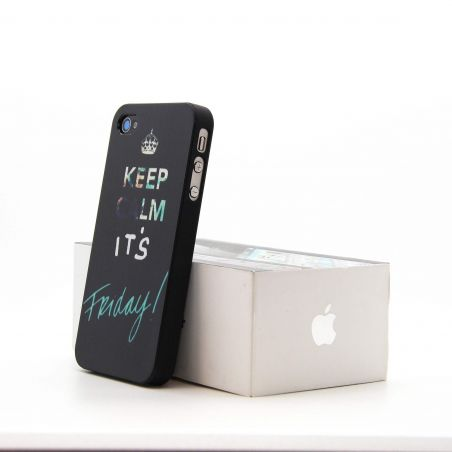'Keep Calm it's Friday' Hardcase for iPhone 4 4S   Covers et Cases iPhone 4 - 2