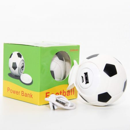 Power Bank 2200 MAH Soccer Ball for iPod, iPhone and iPad  Accueil - 3