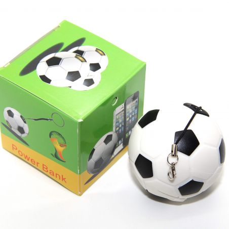 Power Bank 2200 MAH Soccer Ball for iPod, iPhone and iPad  Accueil - 6