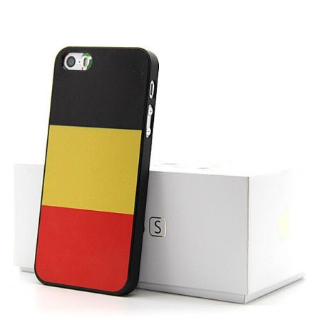 World Cup Belgian Flag Case  Brasil  NR 10  for iPhone 5, 5S  Covers et Cases iPhone 5 - 1