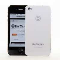 MacManiack Replacement Back Cover iPhone 4S White  Back covers MacManiack iPhone 4S - 1