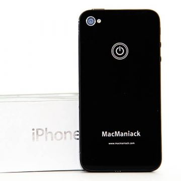 MacManiack Replacement Back Cover iPhone 4S Black  Back covers MacManiack iPhone 4S - 3