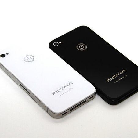 MacManiack Backcover Schwarz iPhone 4S  Rückenschalen MacManiack iPhone 4S - 5