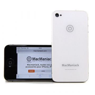 MacManiack Replacement Back Cover iPhone 4 White  Back covers MacManiack iPhone 4 - 2
