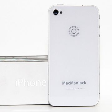 MacManiack Replacement Back Cover iPhone 4 White  Back covers MacManiack iPhone 4 - 3