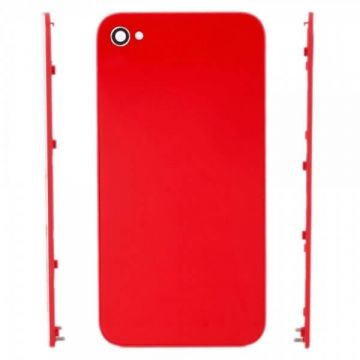iPhone 4S back cover red  Back covers iPhone 4S - 2