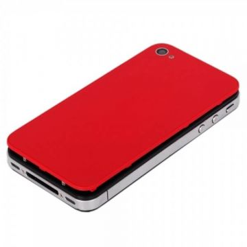 iPhone 4S back cover red  Back covers iPhone 4S - 3