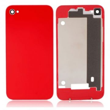 iPhone 4S back cover red  Back covers iPhone 4S - 1