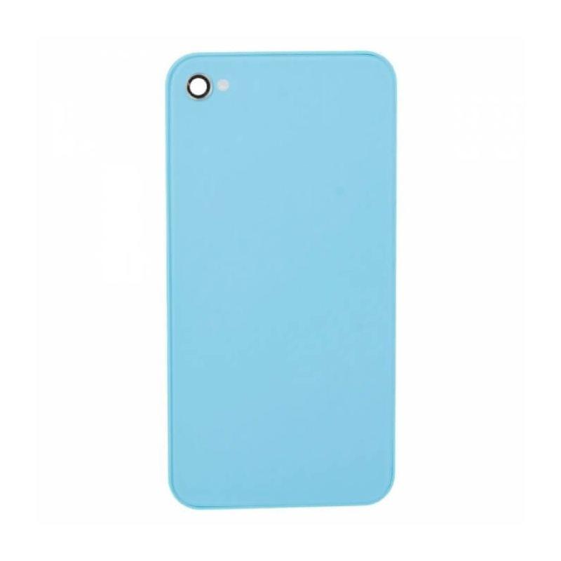 Achat Face arrière de remplacement bleue pour iPhone 4 IPH4G-080X