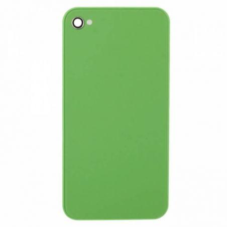 Achat Face arrière de remplacement verte pour iPhone 4 IPH4G-082X