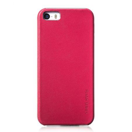 Leather Case Hoco Flash Series iPhone 5/5S/SE Hoco Covers et Cases iPhone 5 - 6