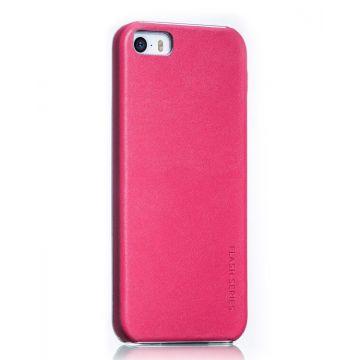 Achat Coque Cuir Hoco Flash Series iPhone 5/5S/SE
