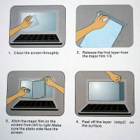 "MacBook Retina 15"" Transparenter Displayschutz für Retina  Schutzfolien MacBook - 4"