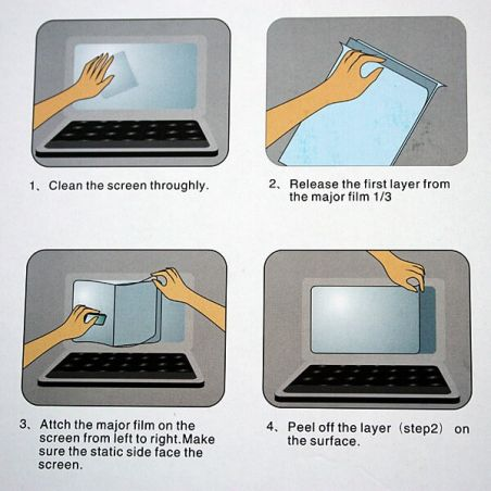 "MacBook Retina 15"" Transparent Screen Protector  Protective films MacBook - 4"