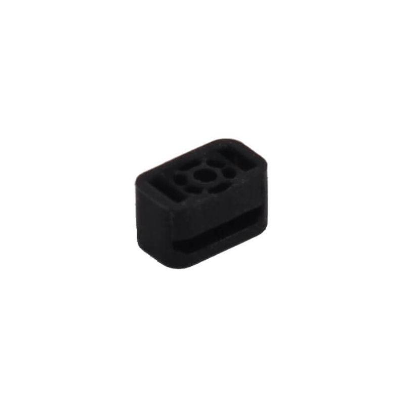 Gummiabdeckung für iPhone 5 Mikrofon - 5S/SE - 5C  Ersatzteile iPhone 5 - 1
