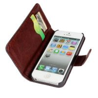 Denim style Portfolio Stand Case iPhone 5/5S/SE  Covers et Cases iPhone 5 - 5