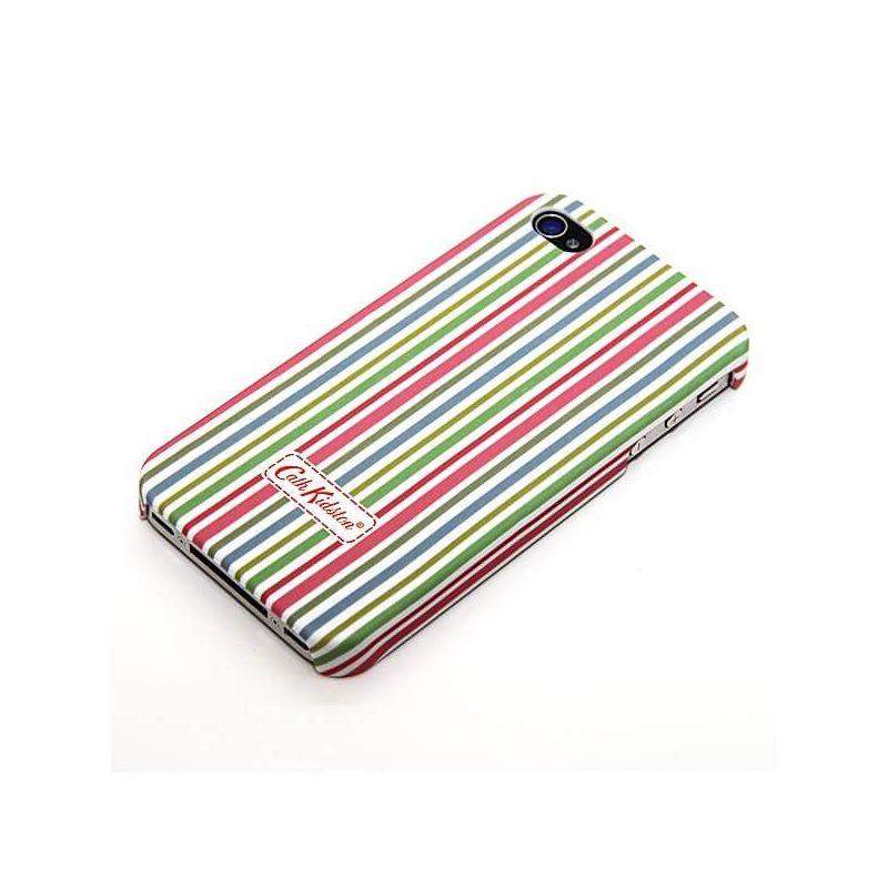 Cath Kidston iPhone 4 4S mehrfarbige Linie Shell  Abdeckungen et Rümpfe iPhone 4 - 1