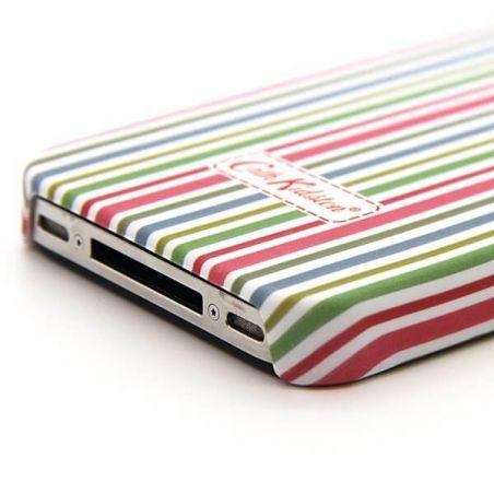 Cath Kidston iPhone 4 4S mehrfarbige Linie Shell  Abdeckungen et Rümpfe iPhone 4 - 3