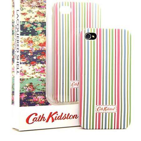 Cath Kidston iPhone 4 4S mehrfarbige Linie Shell  Abdeckungen et Rümpfe iPhone 4 - 6