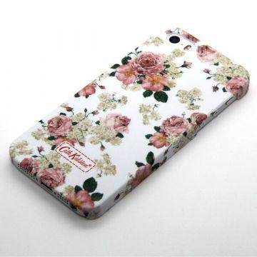 Geblühte weiße Schale Cath Kidston iPhone 5/5S/SE  Accueil - 1