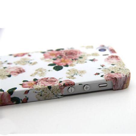 Geblühte weiße Schale Cath Kidston iPhone 5/5S/SE  Accueil - 3