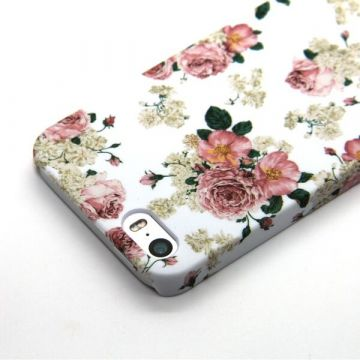 Achat Coque fleurie blanche Cath Kidston iPhone 5/5S/SE