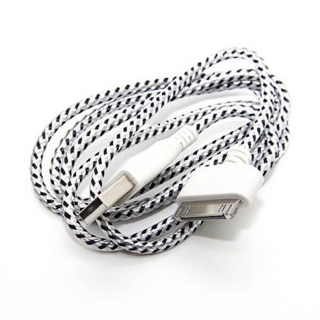 Achat Cable USB tressé pour iPhone iPad et iPod