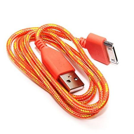 Braided USB Cable for iPhone iPad and iPod  Chargers - Powerbanks - Cables iPhone 4 - 5