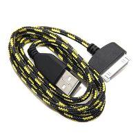 Geflochtenes USB-Kabel für iPhone iPad und iPod  Ladegeräte - Batterien externe - Kabel iPhone 4 - 8