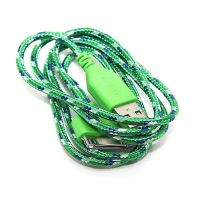 Braided USB Cable for iPhone iPad and iPod  Chargers - Powerbanks - Cables iPhone 4 - 9