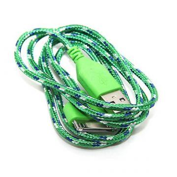 Geflochtenes USB-Kabel für iPhone iPad und iPod  Ladegeräte - Batterien externe - Kabel iPhone 4 - 9