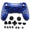 Coque manette look camouflage + boutons - PS4
