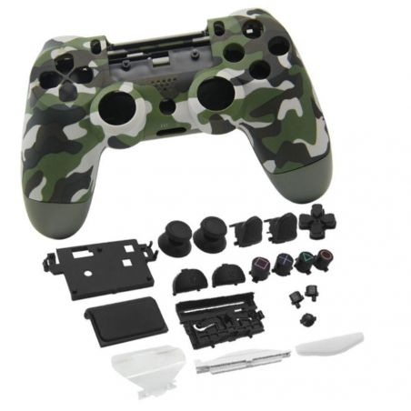 Achat Coque manette look camouflage + bouton - PS4 Slim HS-P4M051