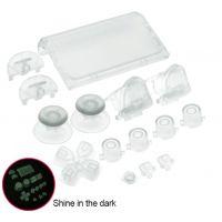 Achat Lot de bouton manette transparent - PS4 Slim HS-P4M023