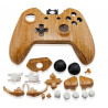 Coque manette look bois + bouton - Xbox One