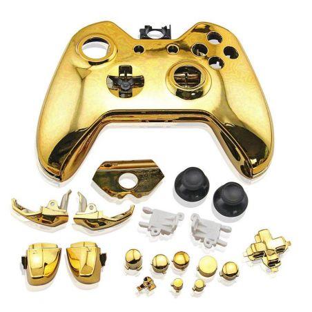Achat Coque manette chrome + bouton - Xbox One HS-XO502