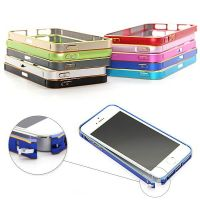 Ultra-thin 0.7mm rounded Aluminum Bumper gold iPhone 5/5S/SE  Bumpers iPhone 5 - 1