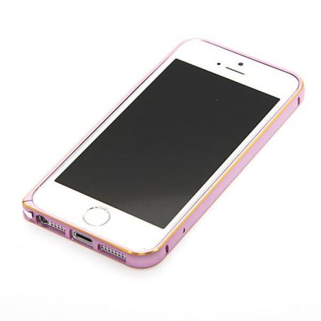 Ultra-thin 0.7mm rounded Aluminum Bumper gold iPhone 5/5S/SE  Bumpers iPhone 5 - 2