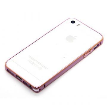 Ultra-thin 0.7mm rounded Aluminum Bumper gold iPhone 5/5S/SE  Bumpers iPhone 5 - 3