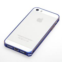 Ultra-thin 0.7mm rounded Aluminum Bumper gold iPhone 5/5S/SE  Bumpers iPhone 5 - 6