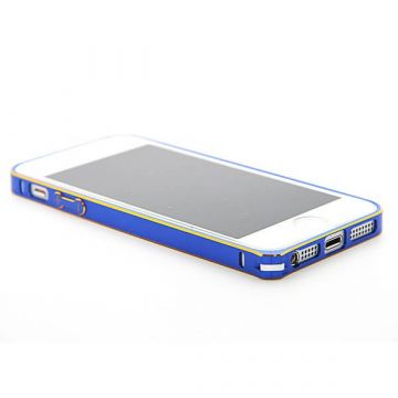 Ultra-thin 0.7mm rounded Aluminum Bumper gold iPhone 5/5S/SE  Bumpers iPhone 5 - 8