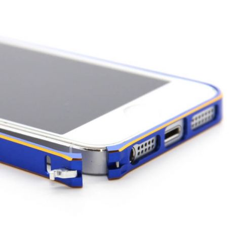 Ultra-thin 0.7mm rounded Aluminum Bumper gold iPhone 5/5S/SE  Bumpers iPhone 5 - 9
