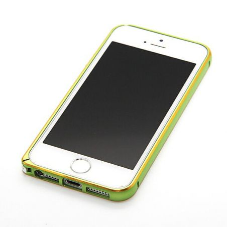 Ultra-thin 0.7mm rounded Aluminum Bumper gold iPhone 5/5S/SE  Bumpers iPhone 5 - 10