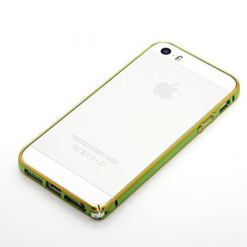 Ultra-thin 0.7mm rounded Aluminum Bumper gold iPhone 5/5S/SE  Bumpers iPhone 5 - 11