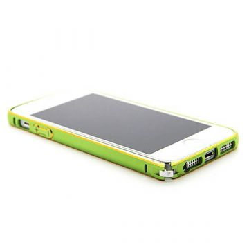Ultra-thin 0.7mm rounded Aluminum Bumper gold iPhone 5/5S/SE  Bumpers iPhone 5 - 13