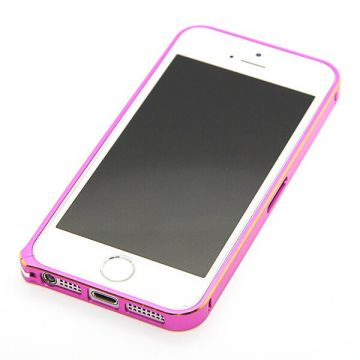Ultra-thin 0.7mm rounded Aluminum Bumper gold iPhone 5/5S/SE  Bumpers iPhone 5 - 14