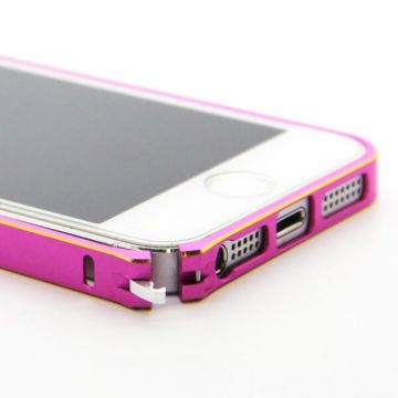 Ultra-thin 0.7mm rounded Aluminum Bumper gold iPhone 5/5S/SE  Bumpers iPhone 5 - 16