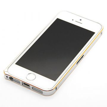 Ultra-thin 0.7mm rounded Aluminum Bumper gold iPhone 5/5S/SE  Bumpers iPhone 5 - 17