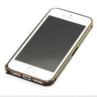 Ultra-thin 0.7mm rounded Aluminum Bumper gold iPhone 5/5S/SE  Bumpers iPhone 5 - 19